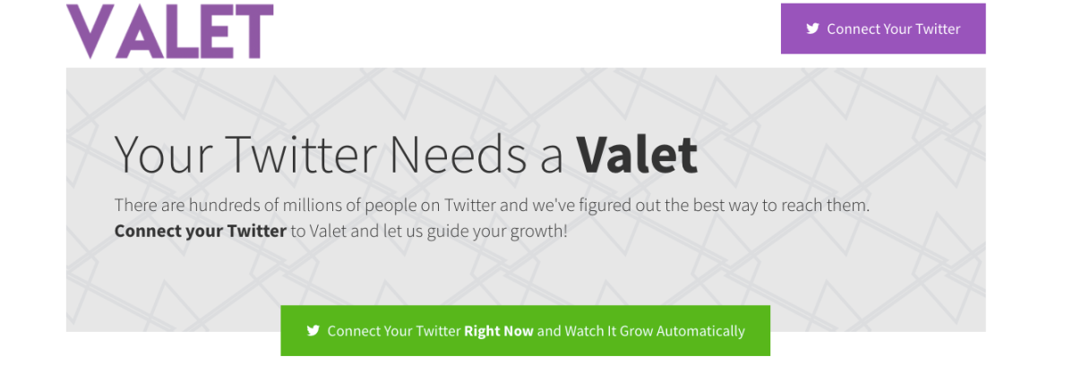 Valet.Social Review. The best way to gain twitter followers.