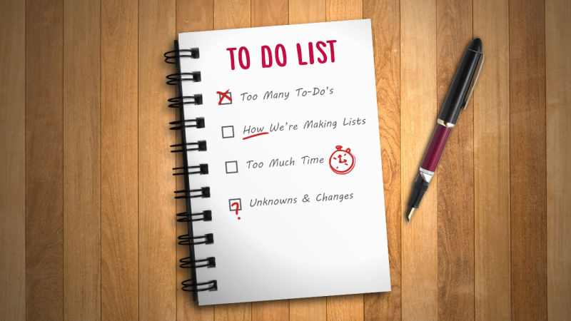 How to make an effective to-do list
